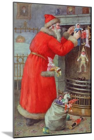Father Christmas-Karl Roger-Mounted Giclee Print