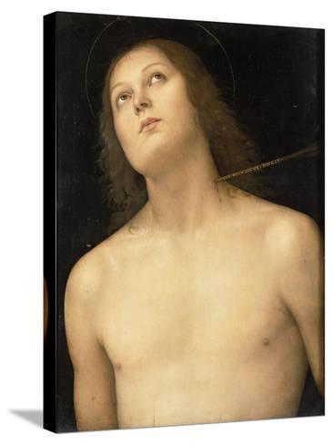 St. Sebastian, c.1495-Pietro Perugino-Stretched Canvas Print