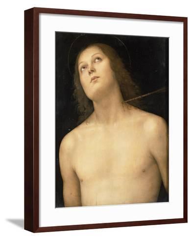 St. Sebastian, c.1495-Pietro Perugino-Framed Art Print