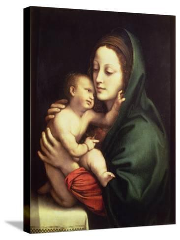 Madonna and Child, c.1510-Bernardino Luini-Stretched Canvas Print