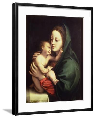 Madonna and Child, c.1510-Bernardino Luini-Framed Art Print