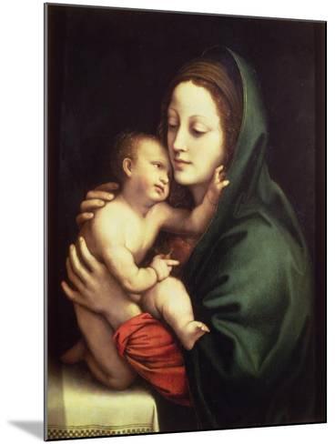 Madonna and Child, c.1510-Bernardino Luini-Mounted Giclee Print