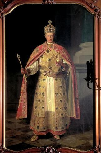 Francis II, Holy Roman Emperor-Ludwig Or Louis Streitenfeld-Stretched Canvas Print