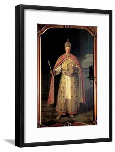 Francis II, Holy Roman Emperor-Ludwig Or Louis Streitenfeld-Framed Art Print