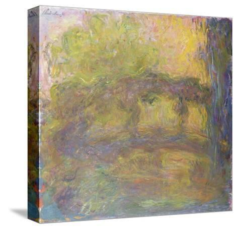 The Japanese Bridge, 1918-24-Claude Monet-Stretched Canvas Print