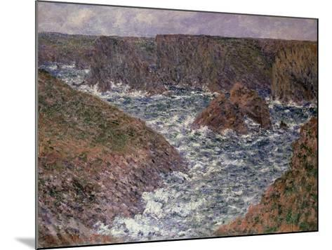 Port Domois at Belle Ile, 1886-Claude Monet-Mounted Giclee Print