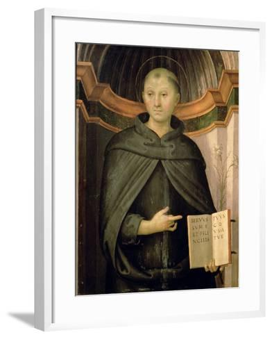 St. Nicholas of Tolentino-Pietro Perugino-Framed Art Print