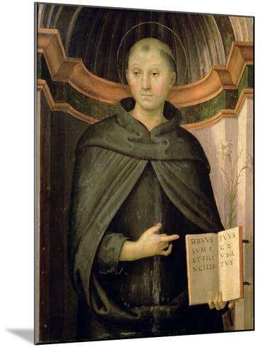 St. Nicholas of Tolentino-Pietro Perugino-Mounted Giclee Print