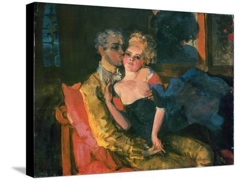 Love, 1910-Konstantin Andreevic Somov-Stretched Canvas Print