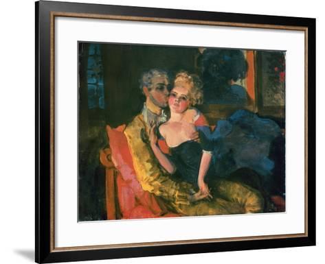 Love, 1910-Konstantin Andreevic Somov-Framed Art Print