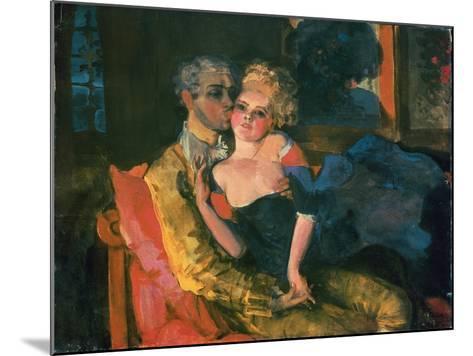 Love, 1910-Konstantin Andreevic Somov-Mounted Giclee Print