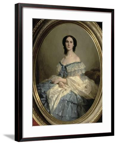 Empress Charlotte of Mexico-Isidore Pils-Framed Art Print