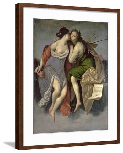 Allegory of the Arts-Francesco Furini-Framed Art Print