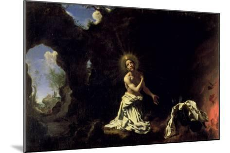 St. Dominic Penitent-Carlo Dolci-Mounted Giclee Print