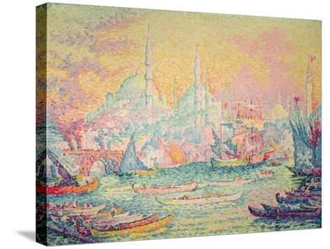 Istanbul, 1907-Paul Signac-Stretched Canvas Print
