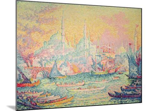 Istanbul, 1907-Paul Signac-Mounted Giclee Print