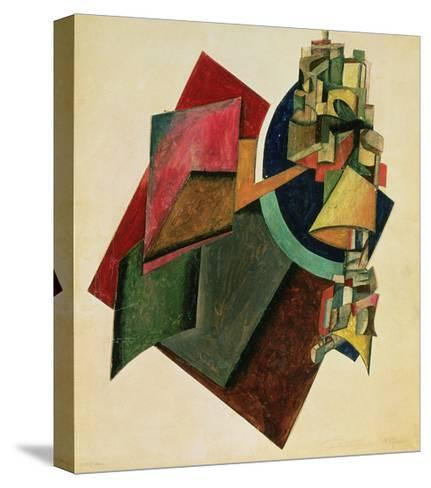 Picturesque Composition, 1919-Alexander Rodchenko-Stretched Canvas Print