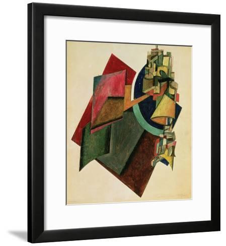Picturesque Composition, 1919-Alexander Rodchenko-Framed Art Print