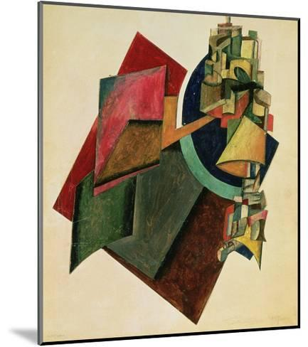 Picturesque Composition, 1919-Alexander Rodchenko-Mounted Giclee Print