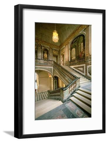 The Escalier de La Reine--Framed Art Print
