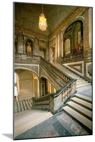 The Escalier de La Reine--Mounted Giclee Print