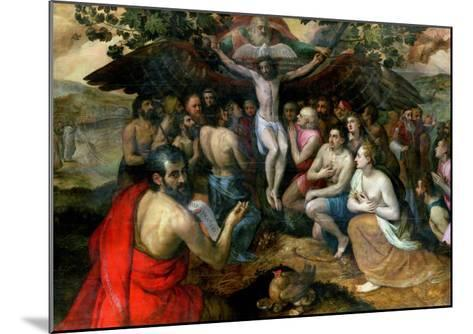 Allegory of the Trinity-Frans Floris-Mounted Giclee Print