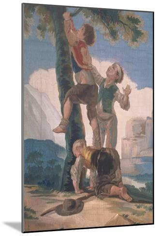 Boys Climbing a Tree-Suzanne Valadon-Mounted Giclee Print