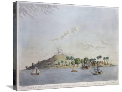 East View of Poolo Chinco, Coast of Sumatra, the Residence of W. Grant Esq., Engraved Moffat, 1802-William Grant-Stretched Canvas Print