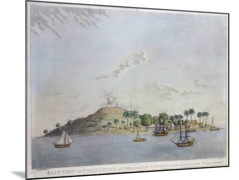 East View of Poolo Chinco, Coast of Sumatra, the Residence of W. Grant Esq., Engraved Moffat, 1802-William Grant-Mounted Giclee Print