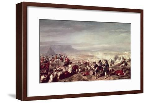 Battle of Almansa Between the Troops of Philip V-Ricardo Balaca Y Canseco-Framed Art Print