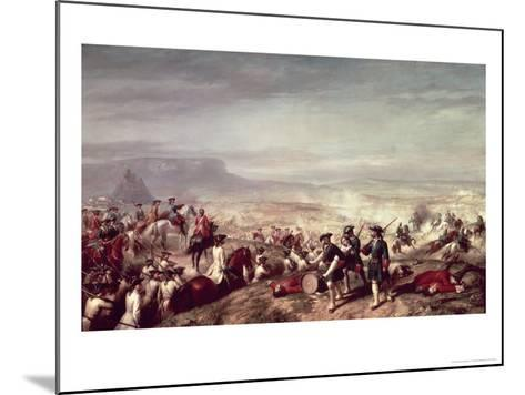 Battle of Almansa Between the Troops of Philip V-Ricardo Balaca Y Canseco-Mounted Giclee Print