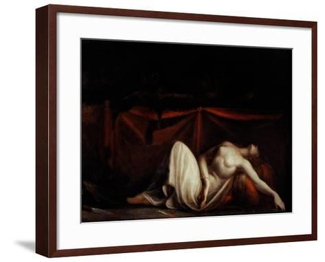 Assassinated Woman and the Furies-Henry Fuseli-Framed Art Print