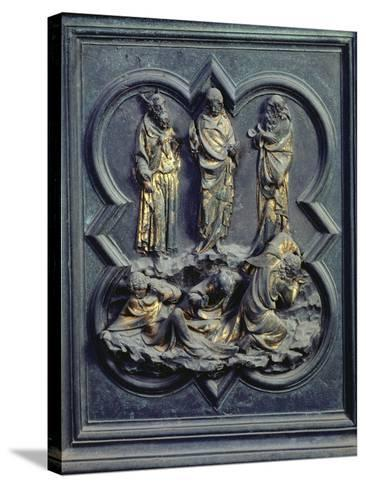 The Transfiguration, Ninth Panel of the North Doors of the Baptistery of San Giovanni, 1403-24-Lorenzo Ghiberti-Stretched Canvas Print
