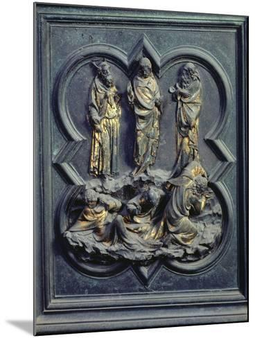 The Transfiguration, Ninth Panel of the North Doors of the Baptistery of San Giovanni, 1403-24-Lorenzo Ghiberti-Mounted Giclee Print