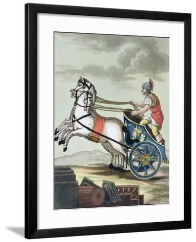 Charioteer, from L'Antica Roma, 1825--Framed Art Print