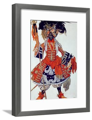 Costume Design For the Queen's Guard, from Sleeping Beauty, 1921-Leon Bakst-Framed Art Print