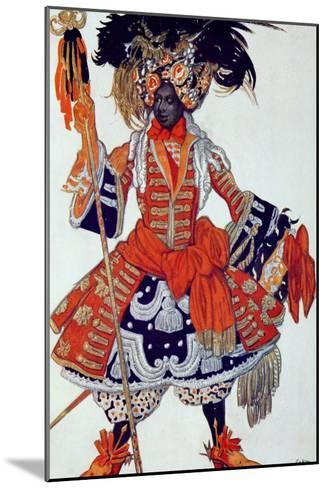 Costume Design For the Queen's Guard, from Sleeping Beauty, 1921-Leon Bakst-Mounted Giclee Print