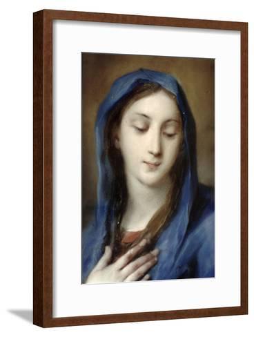 Madonna from the Chapel-Carriera Rosalba-Framed Art Print