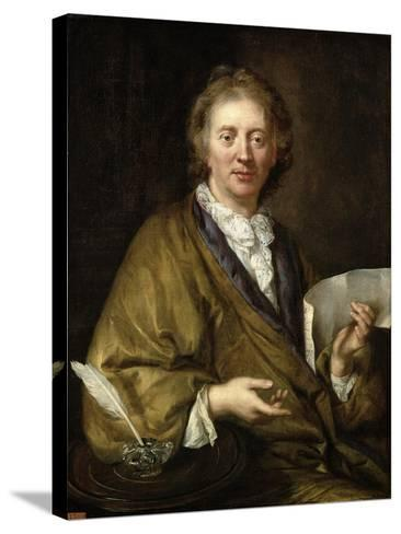 Portrait of a Man, Presumed to Be Francois II Couperin--Stretched Canvas Print