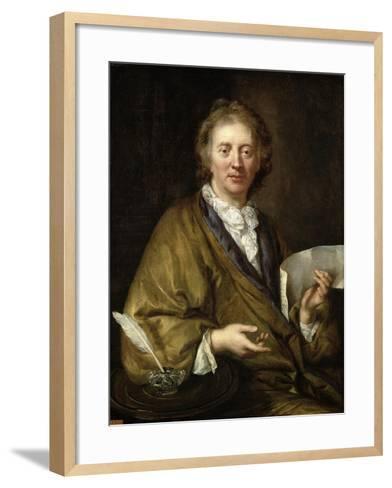 Portrait of a Man, Presumed to Be Francois II Couperin--Framed Art Print