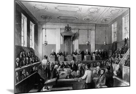 Central Criminal Court, the Old Bailey, Engraved by H. Melville-Thomas Hosmer Shepherd-Mounted Giclee Print