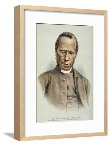 Portrait of the Right Reverend Dr. Samuel Adjai Crowther--Framed Art Print
