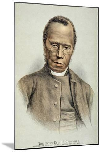 Portrait of the Right Reverend Dr. Samuel Adjai Crowther--Mounted Giclee Print