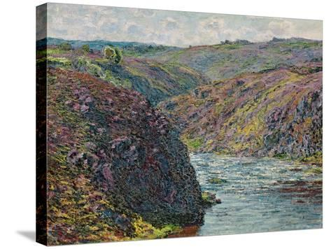 Ravines of the Creuse at the End of the Day, 1889-Claude Monet-Stretched Canvas Print