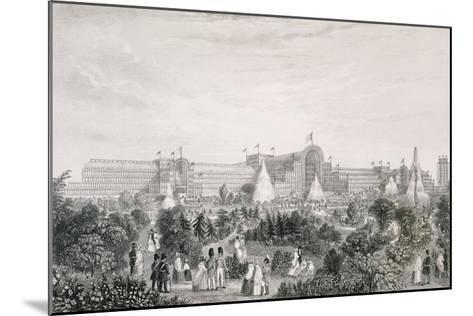The New Crystal Palace at Sydenham, Engraved by Lacey--Mounted Giclee Print