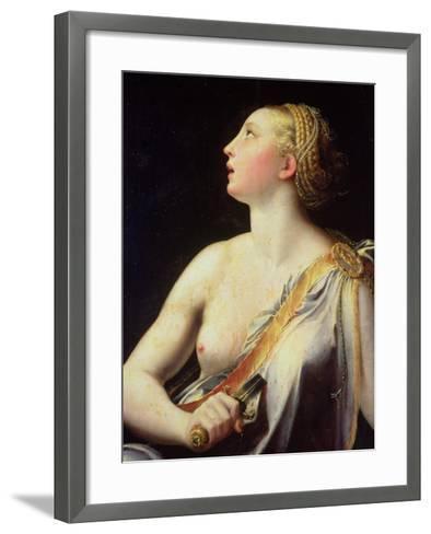 Lucretia-Parmigianino-Framed Art Print