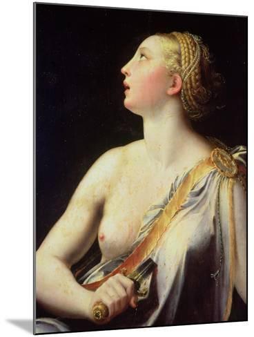 Lucretia-Parmigianino-Mounted Giclee Print