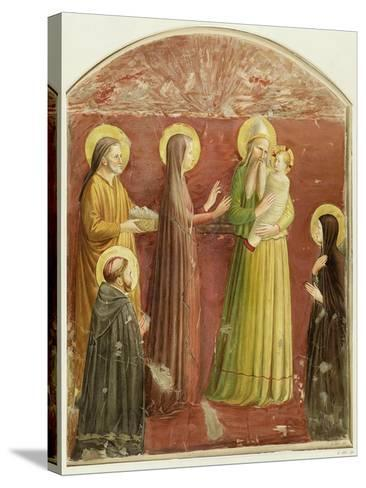 The Presentation in the Temple, from a Series of Prints Made by the Arundel Society-Fra Angelico-Stretched Canvas Print