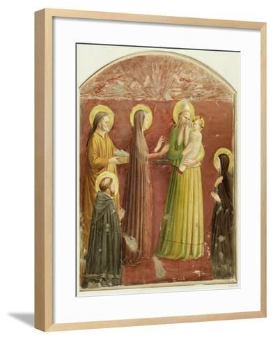 The Presentation in the Temple, from a Series of Prints Made by the Arundel Society-Fra Angelico-Framed Art Print