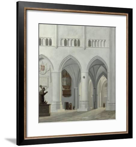 Interior of the Church of St. Bavo, Haarlem, 1630-Pieter Jansz Saenredam-Framed Art Print